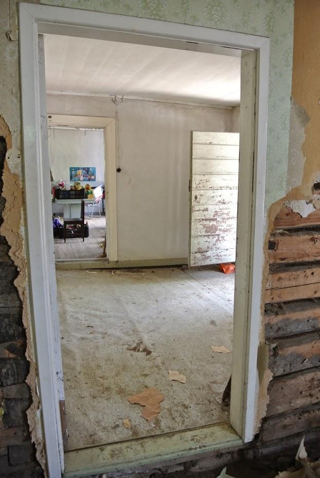 Předsíň, rekonstrukce starého domu, Finsko