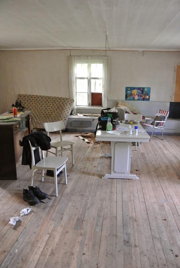 Obývák, rekonstrukce, Finsko