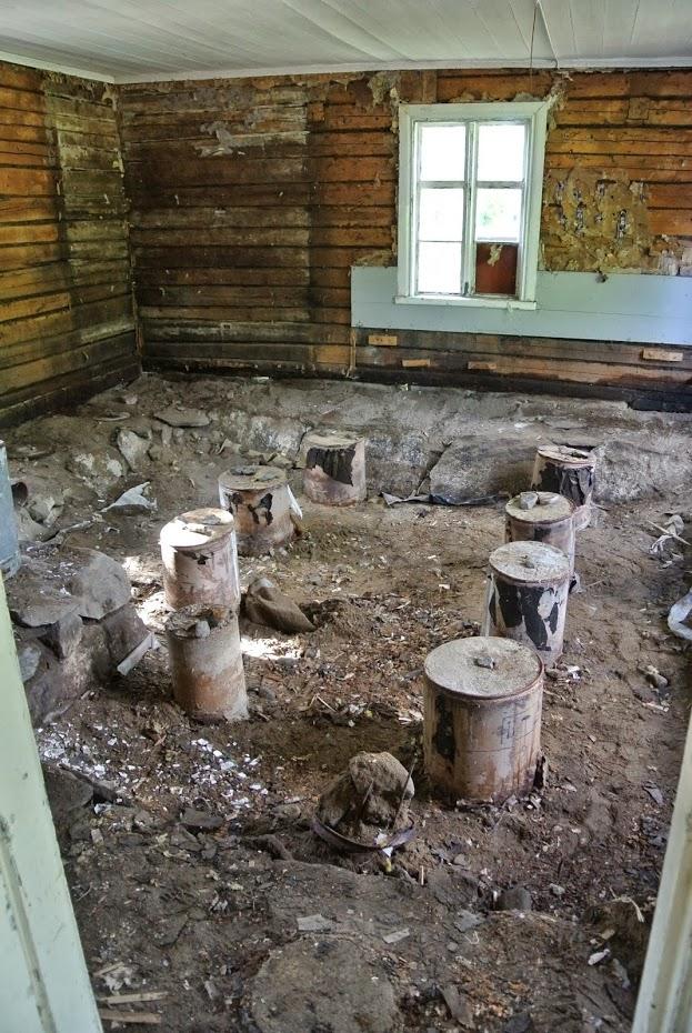 Rekonstrukce staré finské dřevostavby