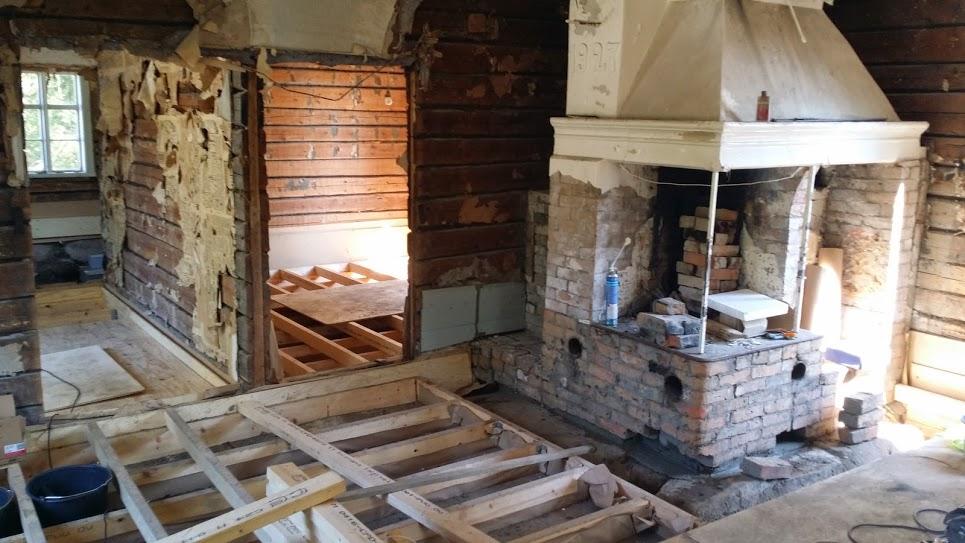 Rekonstrukce starého domu, Finsko