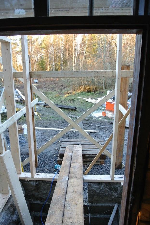 Rekonstrukce verandy, dřevostavba