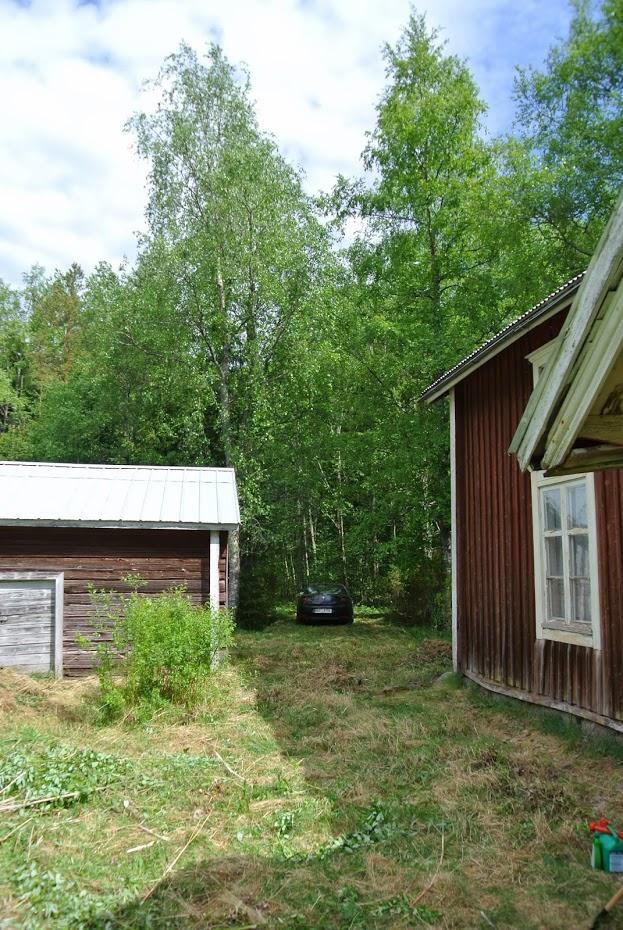 Finský dům, stará dřevostavba