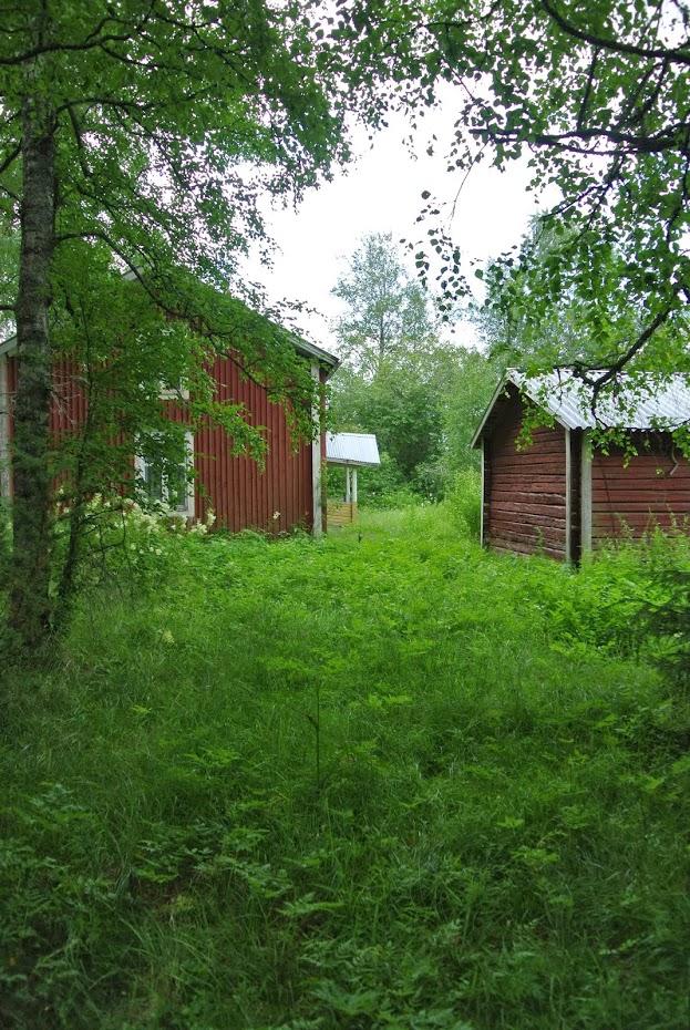 Starý dům ve Finsku