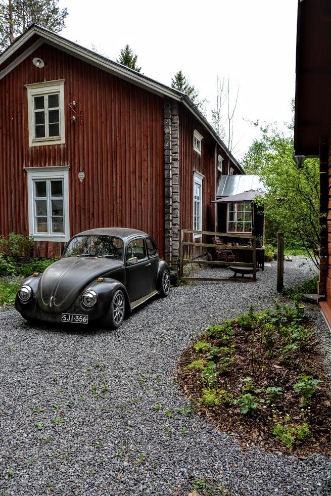 Rekonstrukce starého domu ve Finsku