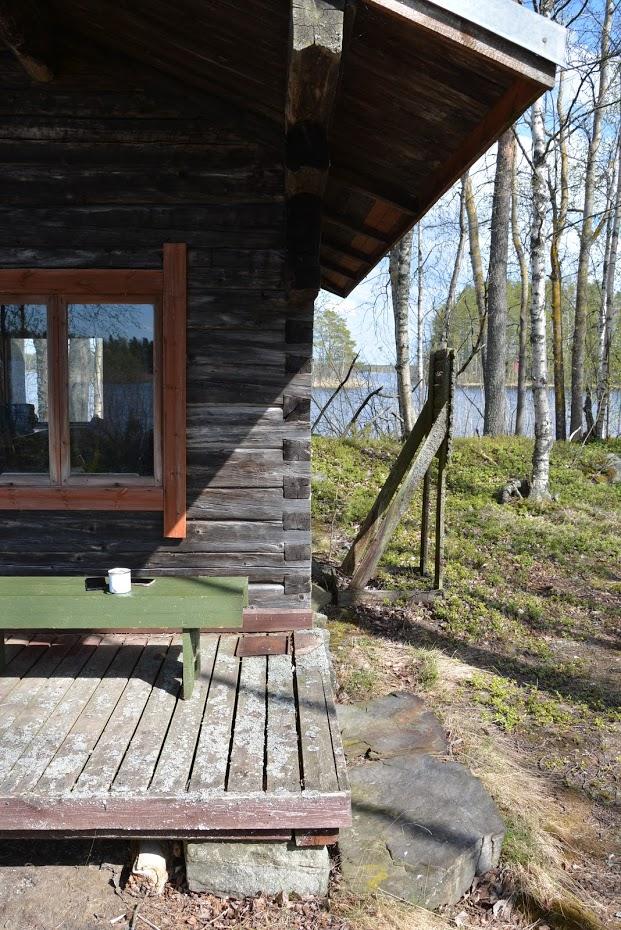 Chata na ostrově, Finsko