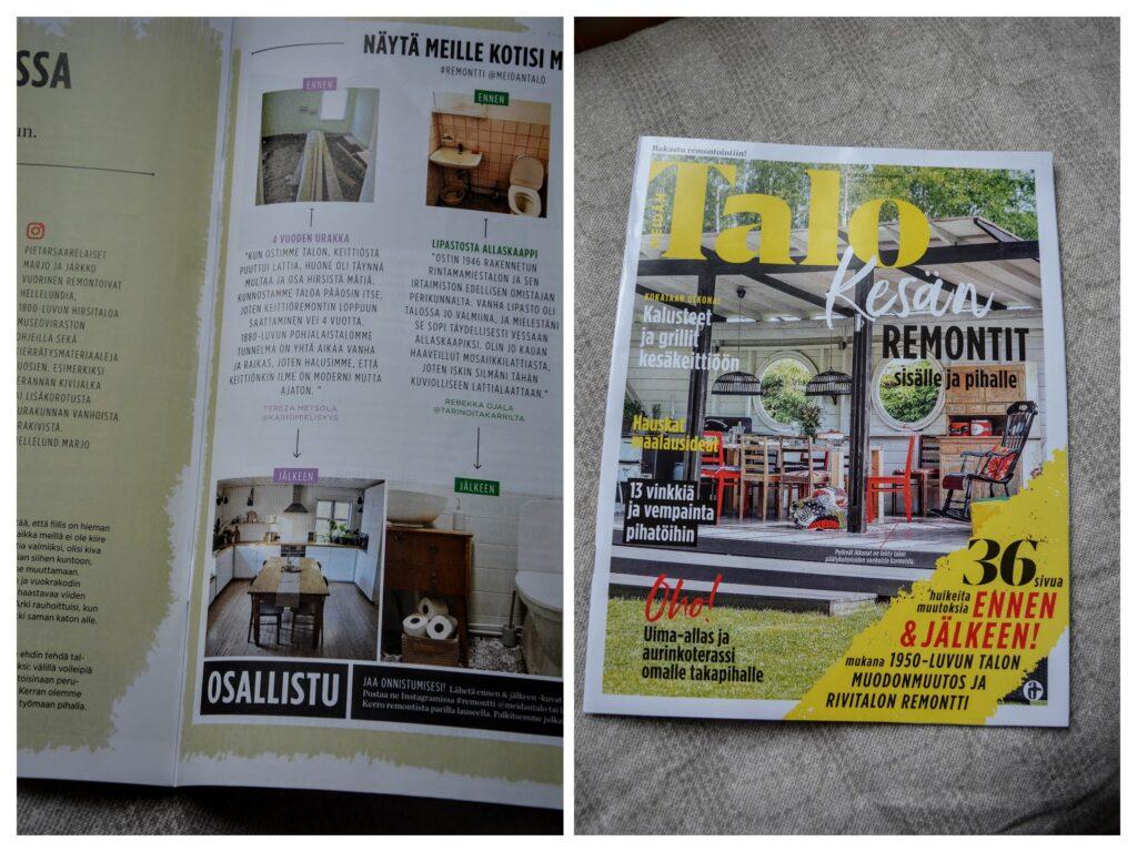Naše kuchyně v časopise