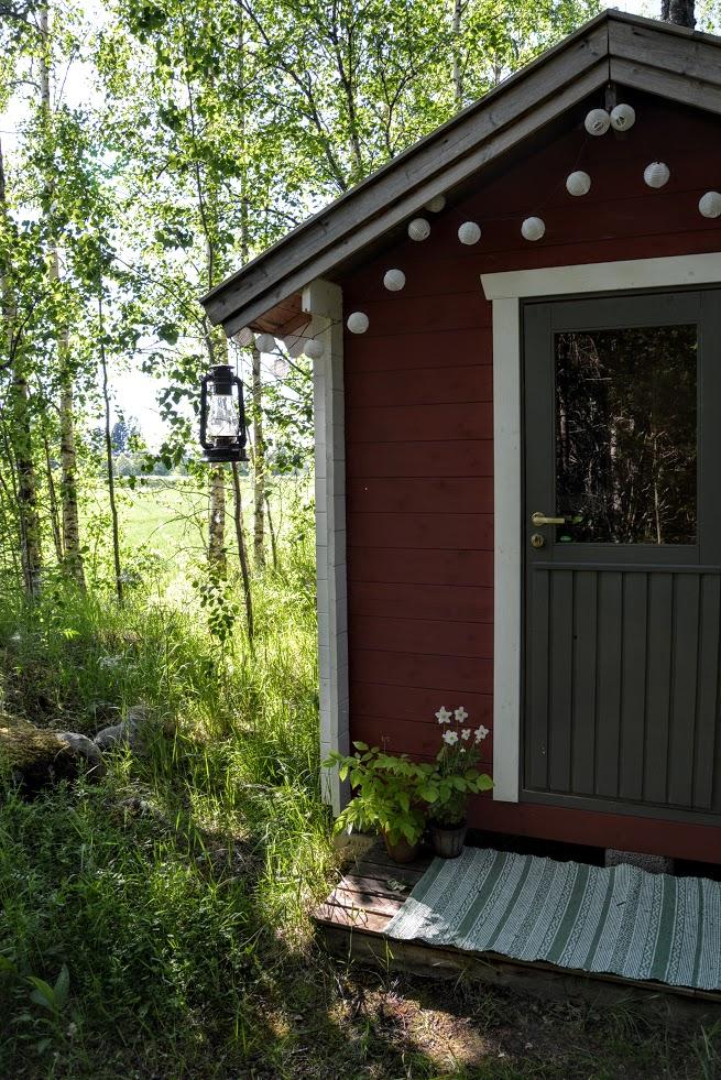 Finsko, sauna, finská sauna, léto