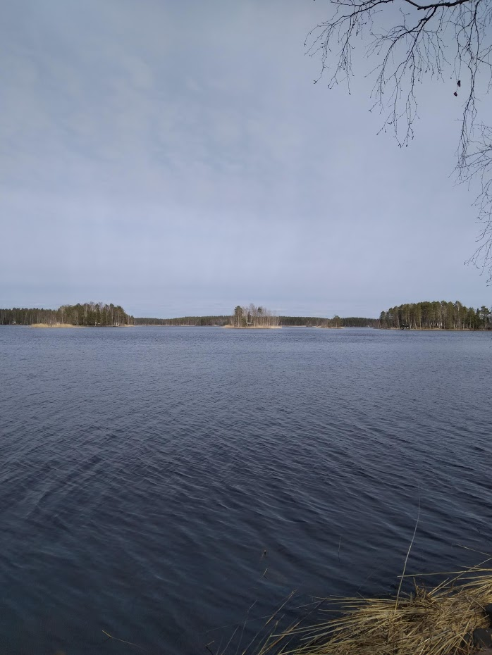 Finsko, jezero, ostrov