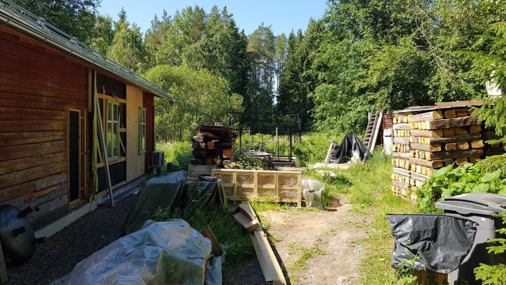 Dvůr, skleník, Finsko