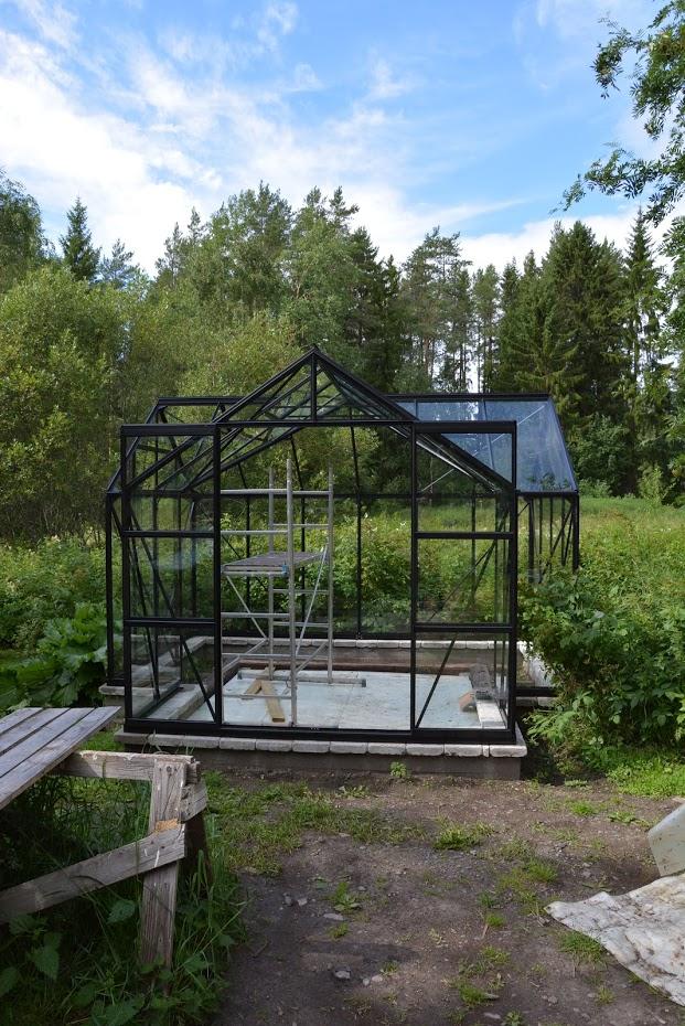 Finsko, Vitavia Sirius, černý skleník