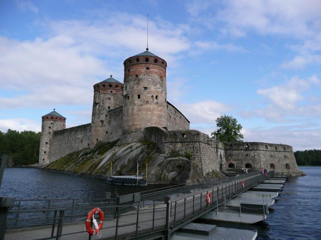 Finsko, Olavinlinna, vodní hrad ve Finsku
