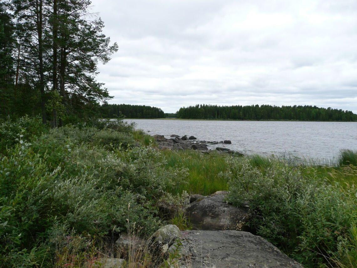 Jezero, Finsko, kempování