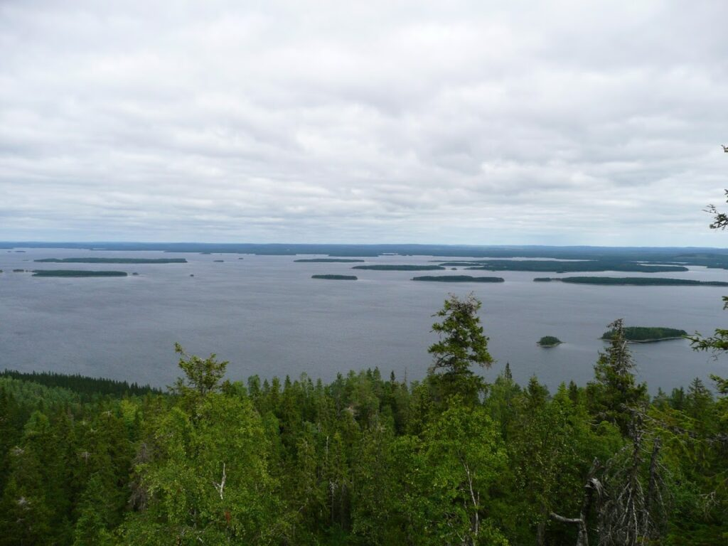 Finsko, jezero, Koli