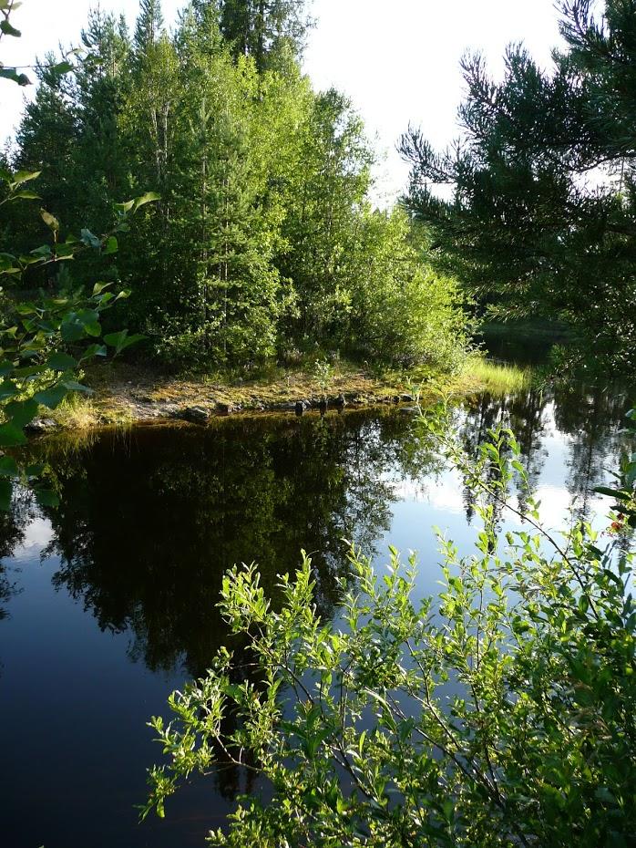 Finsko, jezero, krásná příroda