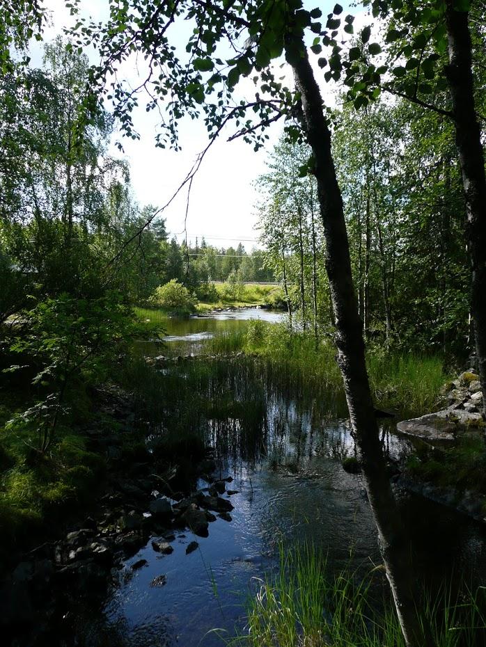 Finsko, řeka, Kitkajoki