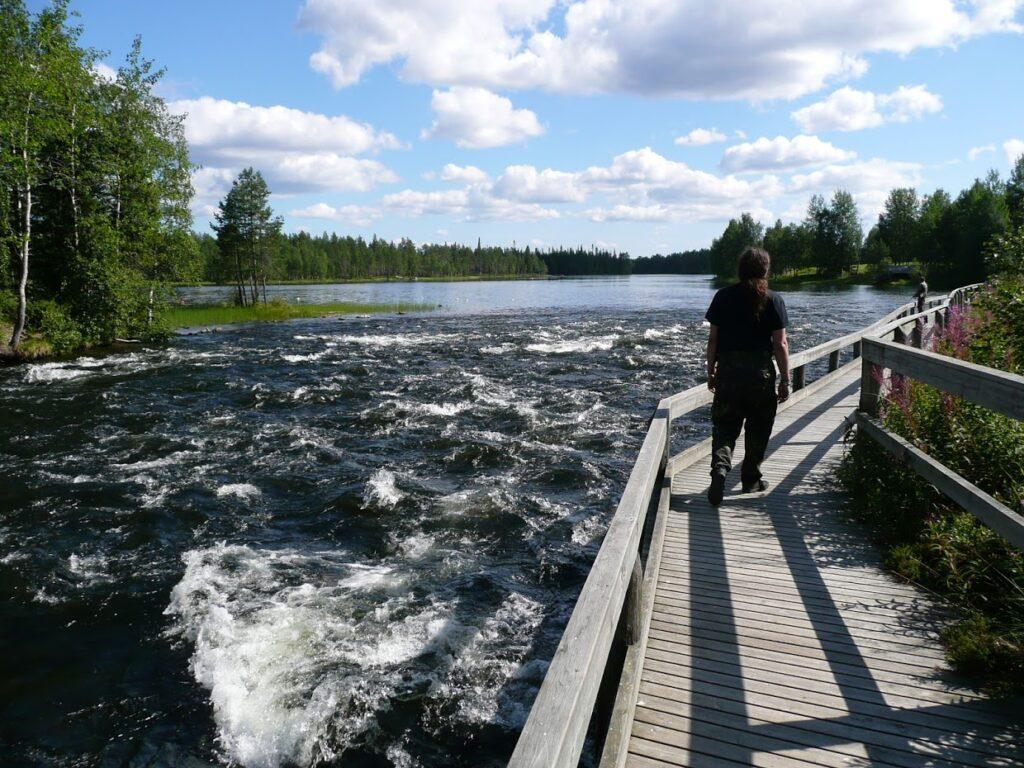Jezero, Finsko, Kitkajoki