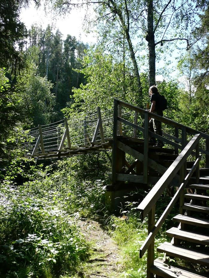 Oulanka, visutý most