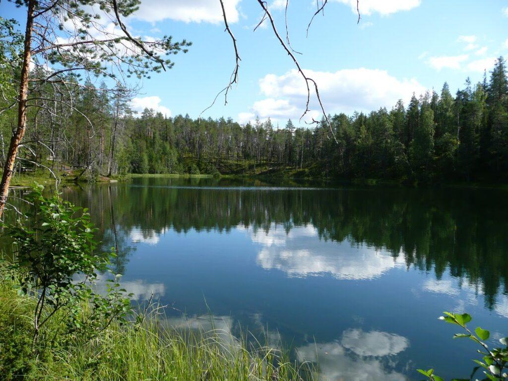 Jezero, Oulanka