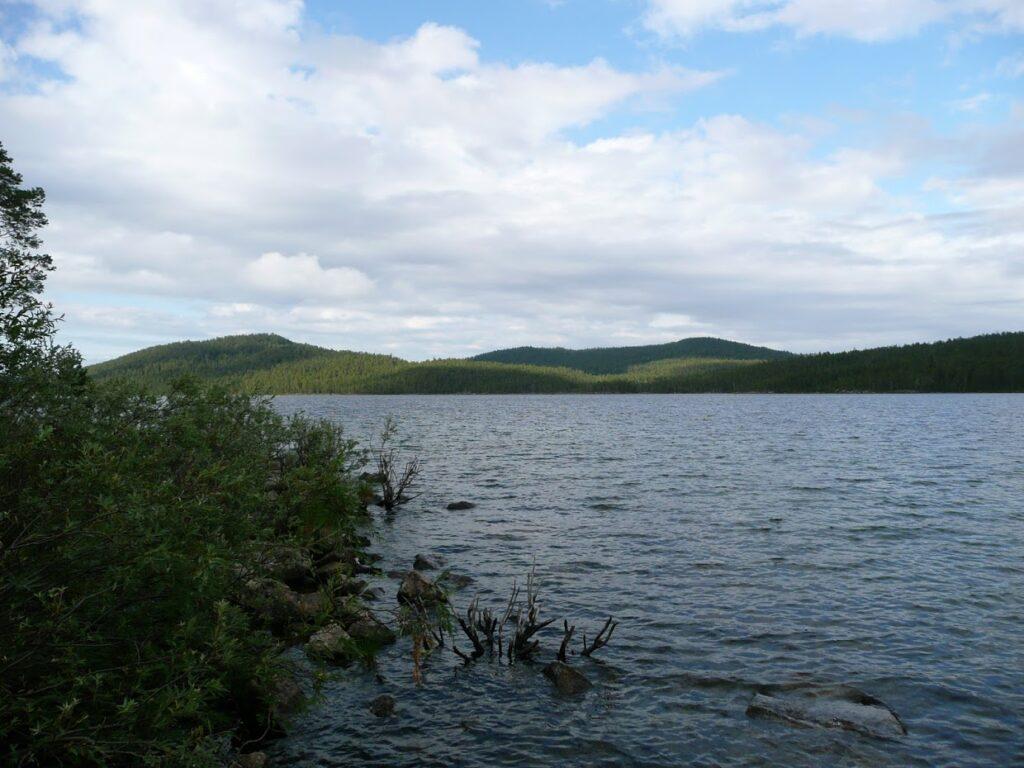 Finsko, jezero, Inari