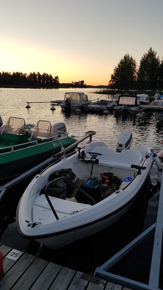 loď, jezero