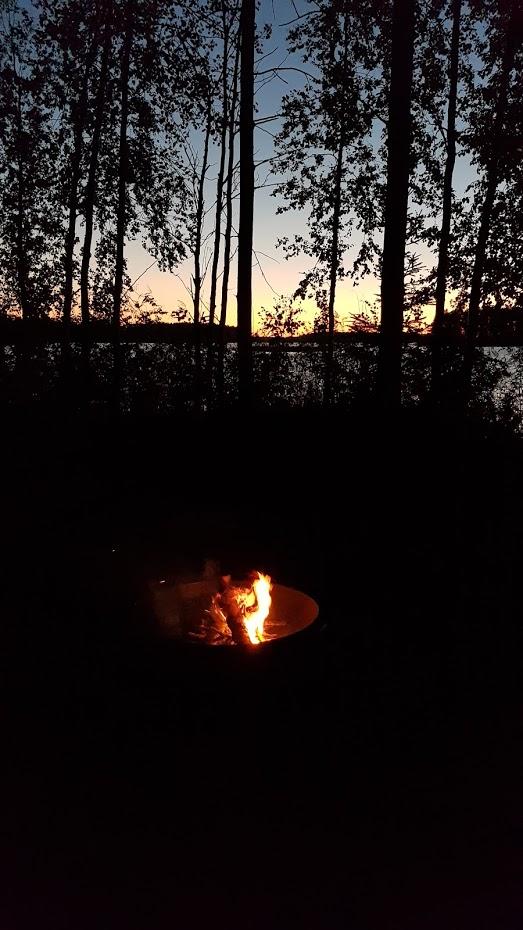 severská světlá noc, Finsko, severské léto