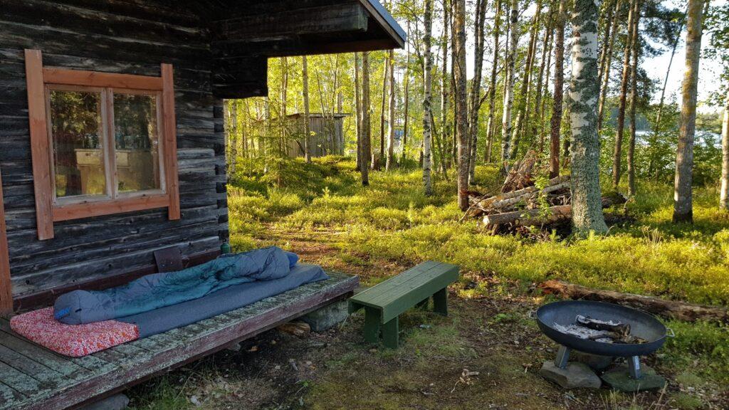 ostrovní chata, Finsko