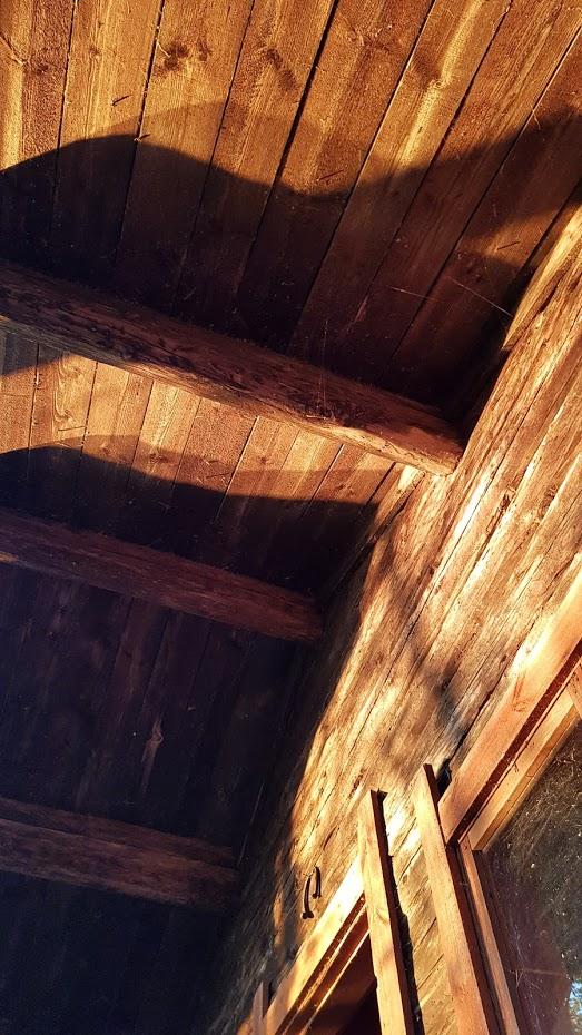 střecha, odraz slunce