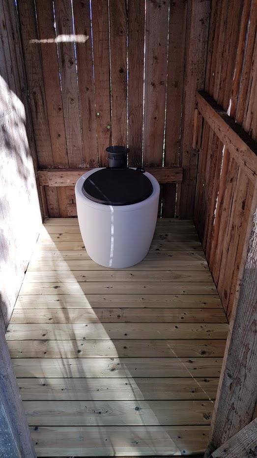 kompostovací toaleta