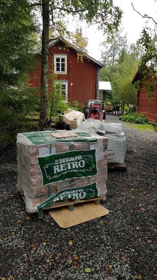 cihly, starý dům, červený dům, Finsko