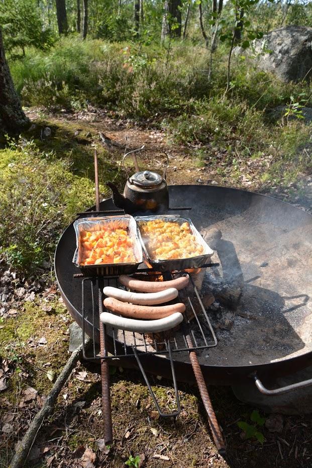 oběd z ohně