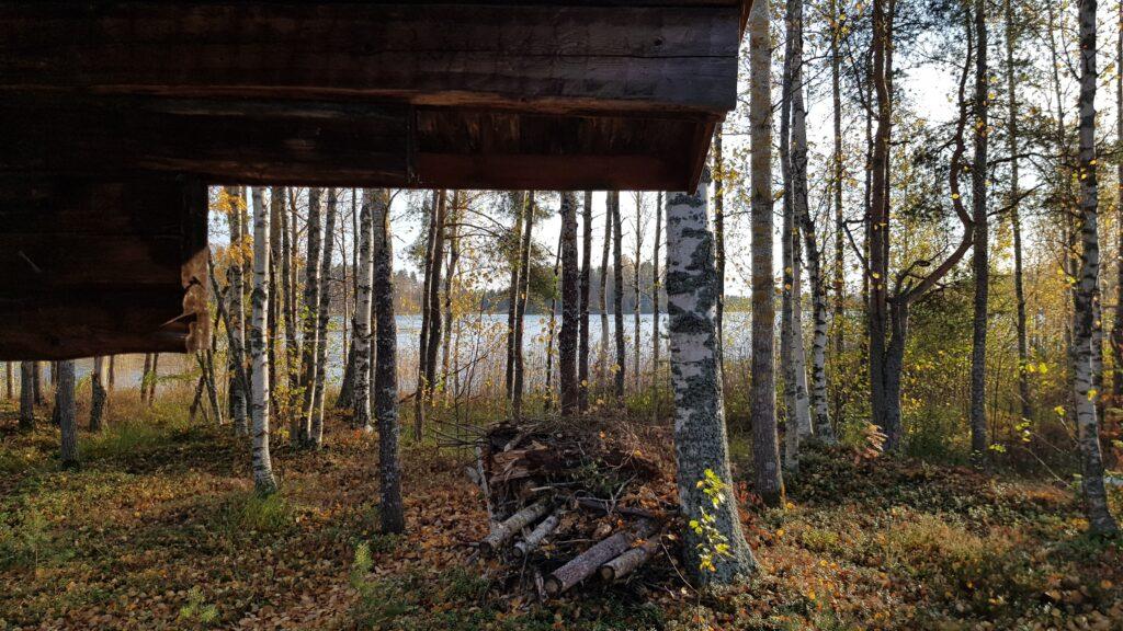 chata u jezera, finská jezera, dovolená ve Finsku