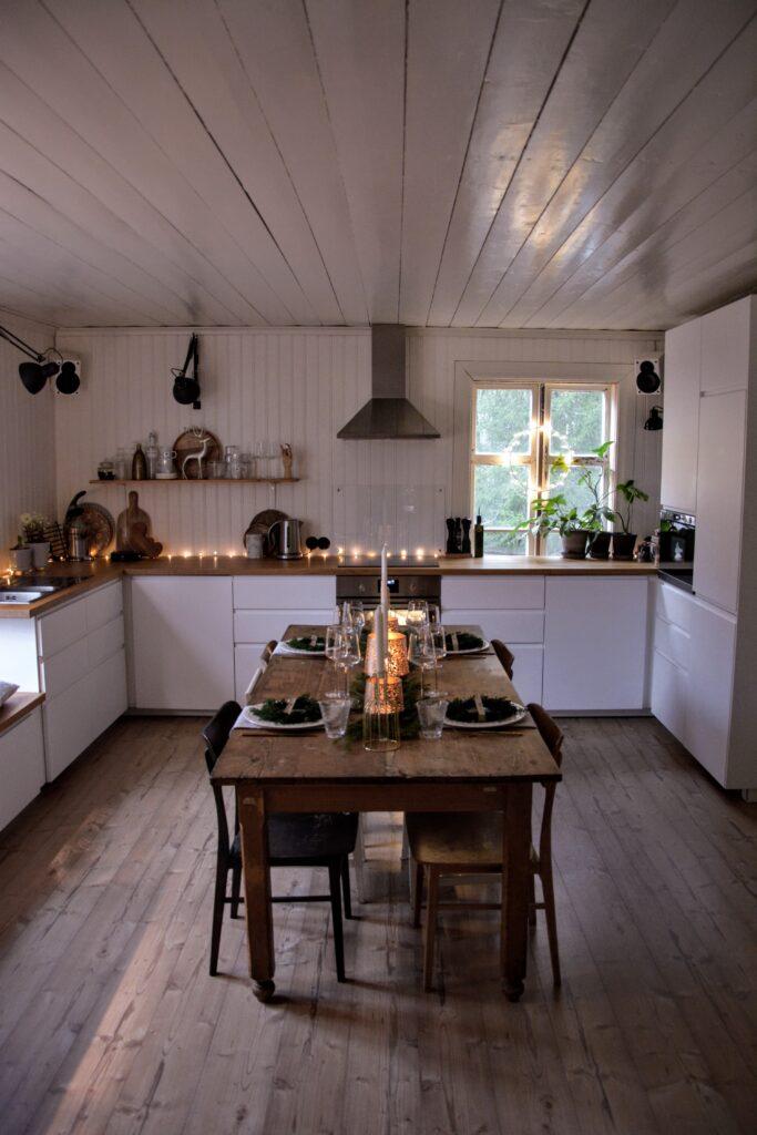 skandinávský design, kuchyně Ikea Voxtorp