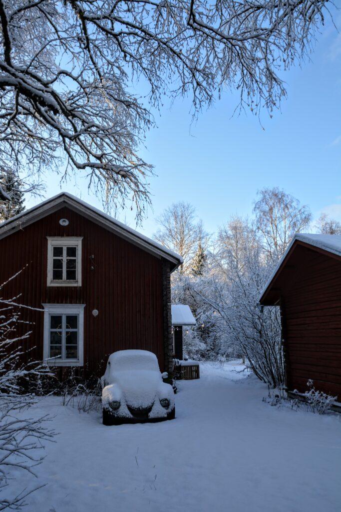 zima ve Finsku