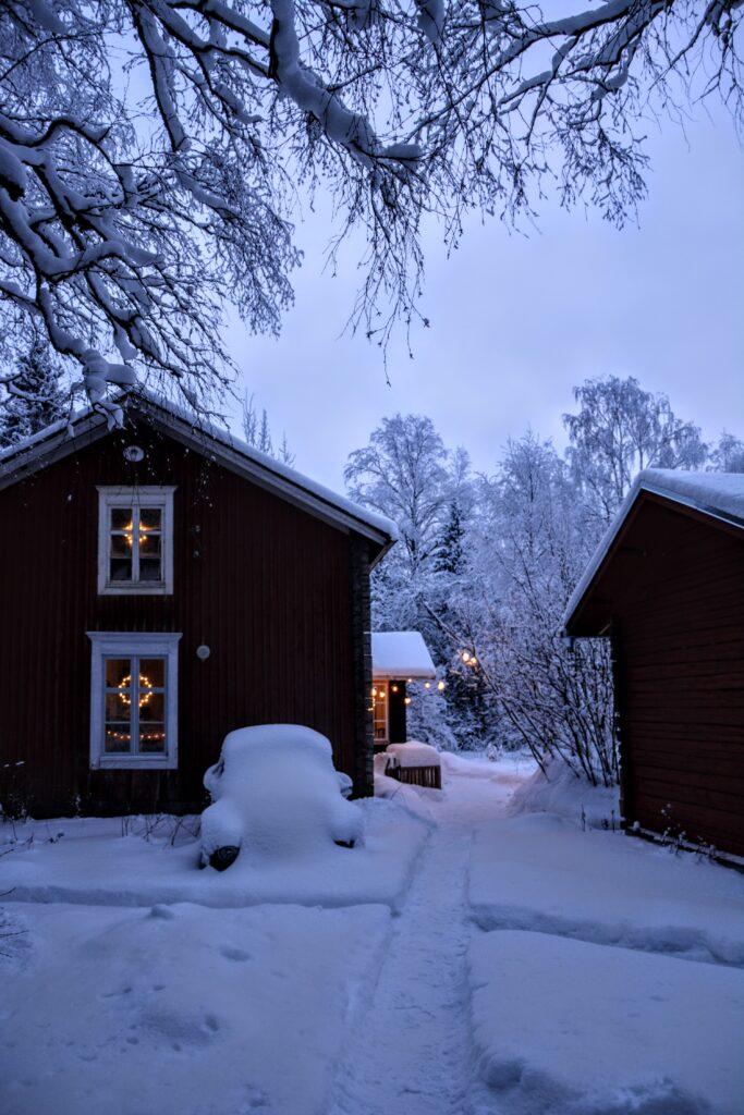 zimní Finsko