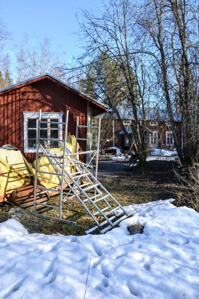 finská dřevostavba