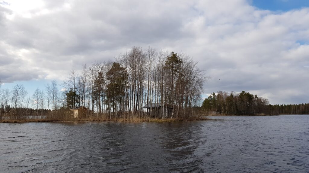 jezerní chata