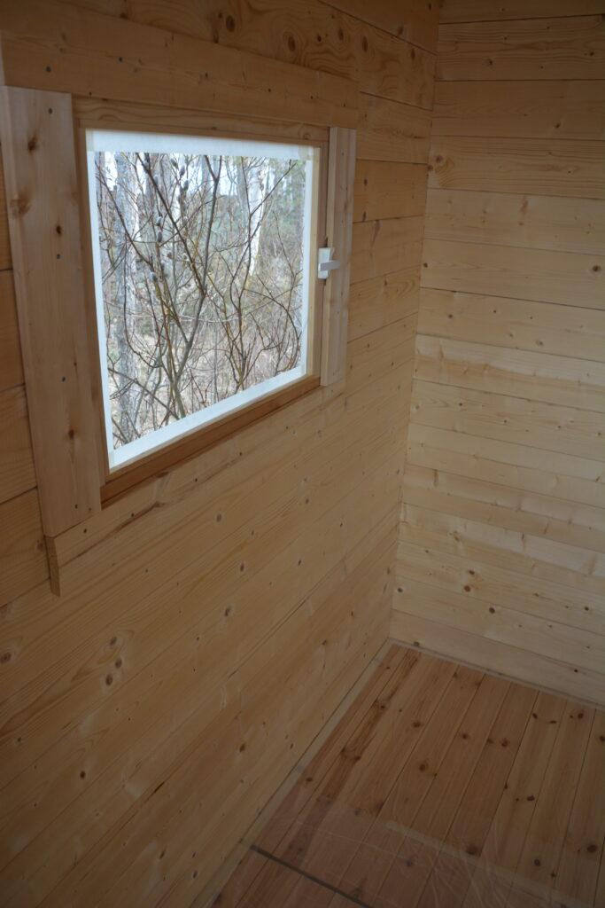 stavba finské sauny