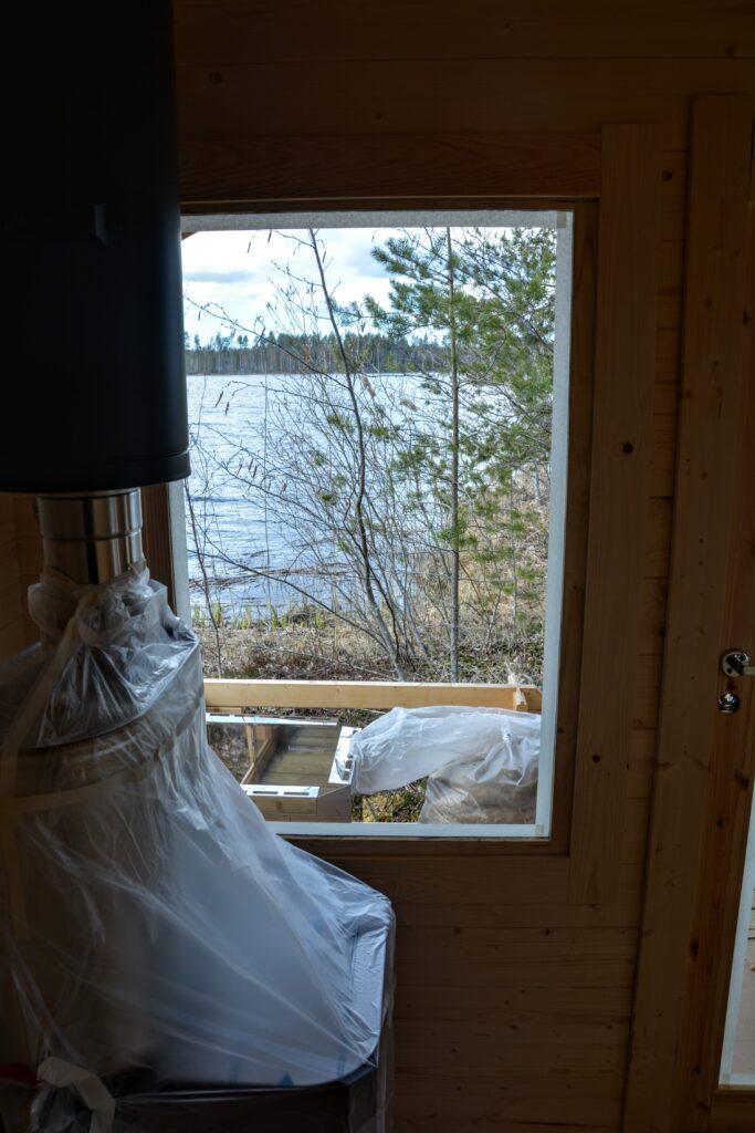 sauna u vody