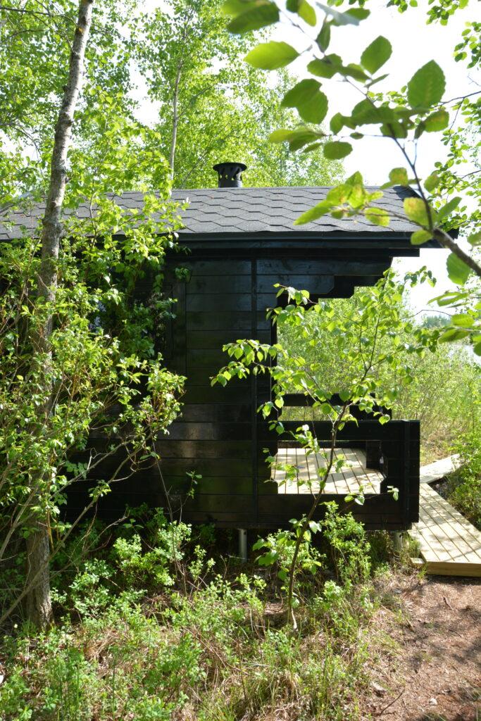 černá sauna