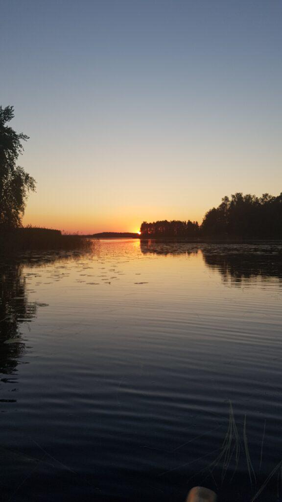 půlnoční slunce