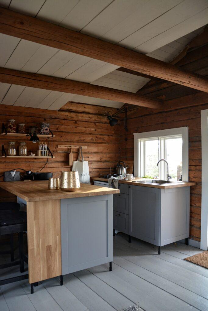 Kuchyně Ikea Enhet, rekonstrukce kuchyně